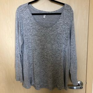 Mudd gray sweater